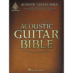 Hal Leonard Acoustic Guitar Bible Tab Songbook (690432)