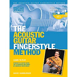 Hal Leonard Acoustic Guitar Fingerstyle Method Book with 2 CD Set (331948)