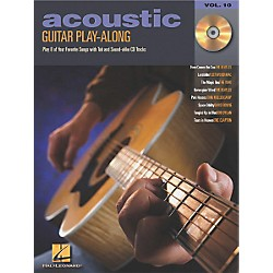 Hal Leonard Acoustic Guitar Play-Along Series Book with CD (699586)