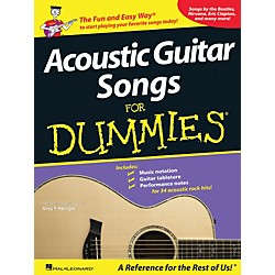 Hal Leonard Acoustic Guitar Songs for Dummies - Book (699767)