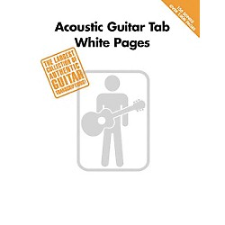 Hal Leonard Acoustic Guitar Tab White Pages Songbook (699590)