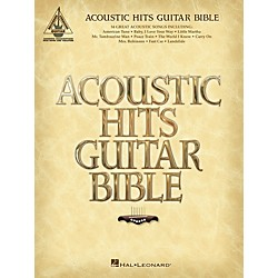 Hal Leonard Acoustic Hits Guitar Bible Guitar Tab Songbook (691094)