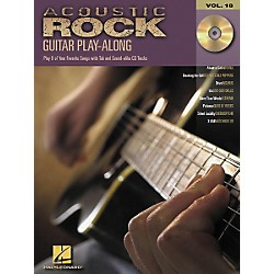 Hal Leonard Acoustic Rock Guitar Play-Along Series Book with CD (699577)