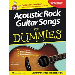 Hal Leonard Acoustic Rock Guitars for Dummies (700844)