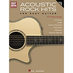 Hal Leonard Acoustic Rock Hits For Easy Guitar 2nd Edition with Notes & Tab (702002)