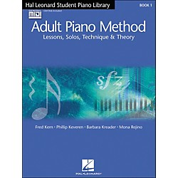 Hal Leonard Adult Piano Method Book 1 Book/GM disk pack Hal Leonard Student Piano Library (296442)