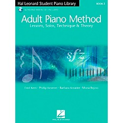 Hal Leonard Adult Piano Method Book 2 Book/2CDs Hal Leonard Student Piano Library (296480)