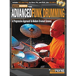 Hal Leonard Advanced Funk Drumming Book/2DVD Set (6620138)