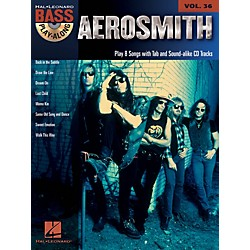 Hal Leonard Aerosmith - Bass Play-Along Volume 36 Book/CD (701886)