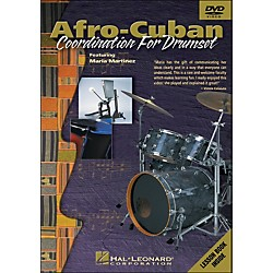 Hal Leonard Afro-Cuban Coordination For Drumset - DVD (320443)
