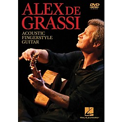 Hal Leonard Alex De Grassi - Acoustic Fingerstyle Guitar Instructional (DVD) (320884)