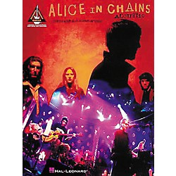 Hal Leonard Alice In Chains Acoustic Unplugged Guitar Tab Songbook (690178)