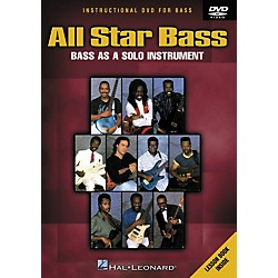 Hal Leonard All Star Bass - Bass As a Solo Instrument (DVD) (320488)
