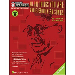 Hal Leonard All The Things You Are & More Jerome Kern Songs Jazz Play-Along Volume 39 Book/CD (843035)