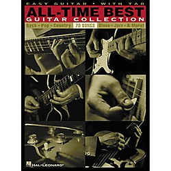 Hal Leonard All-Time Best Guitar Collection Easy Guitar Tab Songbook (702166)