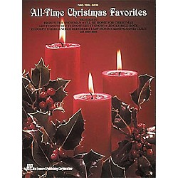 Hal Leonard All-Time Christmas Piano, Vocal, Guitar Favorites (359051)