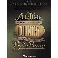 Hal Leonard All-Time Favorite Country Songs for Easy Piano (310577)