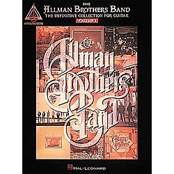 Hal Leonard Allman Bros Definitive Collection Volume 1 Guitar Tab Songbook (694932)