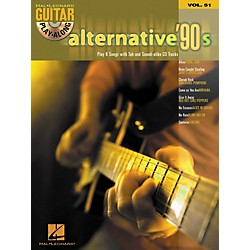 Hal Leonard Alternative '90s Guitar Play-Along Series Book & CD, Volume 51 (699727)