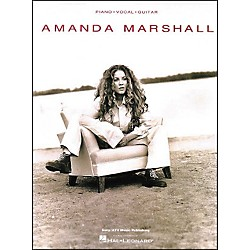 Hal Leonard Amanda Marshall Piano, Vocal, Guitar Piano, Vocal, Guitar Songbook (306171)