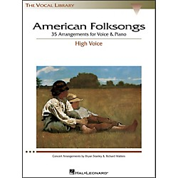Hal Leonard American Folksongs For High Voice (The Vocal Library Series) (740187)