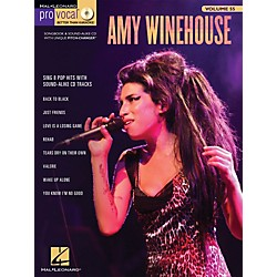 Hal Leonard Amy Winehouse - Pro Vocal Songbook & CD For Female Singers Volume 55 (740444)