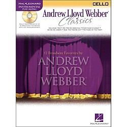 Hal Leonard Andrew Lloyd Webber Classics For Cello Book/CD (841835)