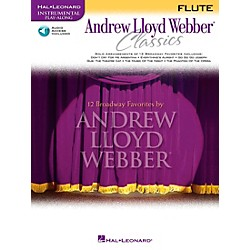 Hal Leonard Andrew Lloyd Webber Classics For Flute Book/CD (841824)