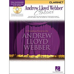 Hal Leonard Andrew Lloyd Webber Classics for Clarinet Book/CD (841826)