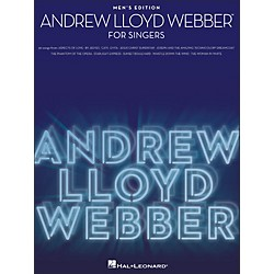 Hal Leonard Andrew Lloyd Webber For Singers - Men's Edition (1185)