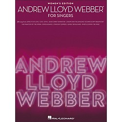 Hal Leonard Andrew Lloyd Webber For Singers - Women's Edition (1184)