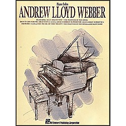 Hal Leonard Andrew Lloyd Webber arranged for piano solo (292001)