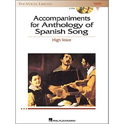 Hal Leonard Anthology Of Spanish Songs For High Voice 2CD Accompaniments (467)