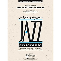 Hal Leonard Any Way You Want It - Easy Jazz Ensemble Series Level 2 (7011913)