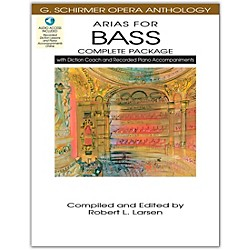 Hal Leonard Arias For Bass - Complete Package with Book, Diction Coach and Accompaniment CDs (50498721)