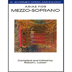 Hal Leonard Arias For Mezzo-Soprano G Schirmer Opera Anthology (50481098)