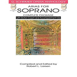 Hal Leonard Arias For Soprano - Complete Package  with Book, Diction Coach and Accompaniment CDs (50498715)