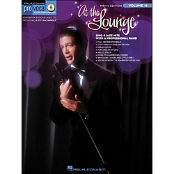 Hal Leonard At The Lounge - Pro Vocal Songbook & CD For Male Singers Volume 46 (740402)