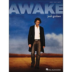 Hal Leonard Awake Josh Groban arranged for piano, vocal, and guitar (P/V/G) (306863)