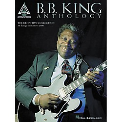 Hal Leonard B.B. King Anthology Guitar Tab Book (690492)