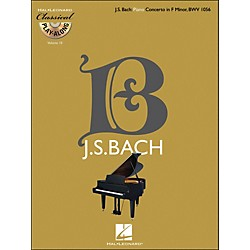 Hal Leonard Bach: Piano Concerto In F Minor, Bwv 1056 - Classical Play-Along Book/CD Vol 10 (842350)