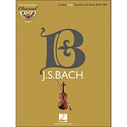 Hal Leonard Bach: Violin Concerto In A Minor, Bwv 1041 Classical Play-Along Book/CD Vol. 7 (842347)