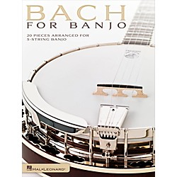 Hal Leonard Bach For Banjo - 20 Pieces Arranged for 5-String Banjo (701903)