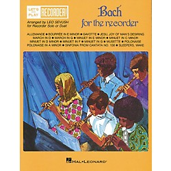 Hal Leonard Bach for the Recorder (710190)