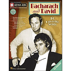 Hal Leonard Bacharach & David Jazz Play -Along Volume 123 Book/CD (843185)