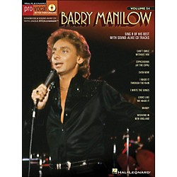 Hal Leonard Barry Manilow - Pro Vocal Songbook & CD For Male Singers Volume 54 (740435)