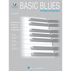 Hal Leonard Basic Blues for Piano with CD (240075)