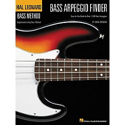 Hal Leonard Bass Arpeggio Finder by Chad Johnson Book (695816)