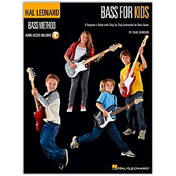 Hal Leonard Bass For Kids - Bass Method (Book/CD) (696449)