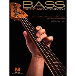 Hal Leonard Bass Fretboard Workbook - Essential Music Principles and Concepts (696603)